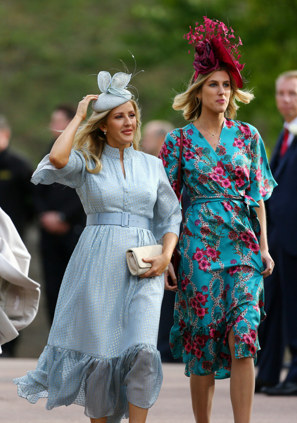 KONGELIG BRYLLUP: Artist Ellie Goulding var gjest i bryllupet. FOTO: NTB Scanpix