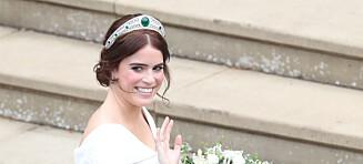 Prinsesse Eugenie viste frem operasjonsarrene på ryggen i bryllupet