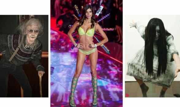 Victoria's Secret-modellen Sara Sampaio gikk for to kostymer i 2016. Foto: Skjermdump / Instagram / @sarasampaio, Scanpix