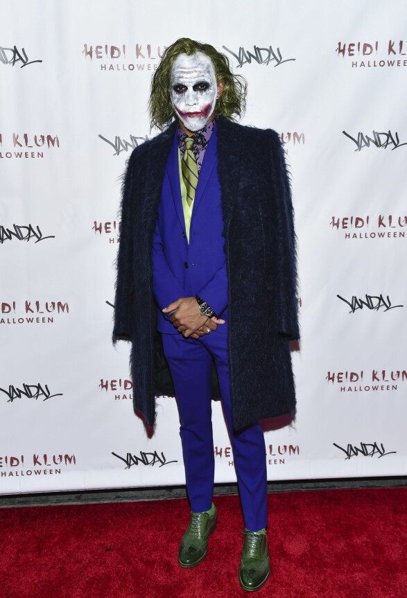 2017: Lewis Hamilton attends Heidi Klum's 17th Annual Hallo