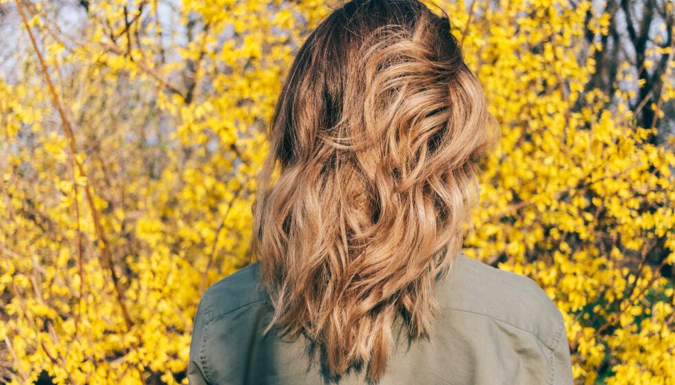 HÅRET FORANDRER SEG: Håret vårt vil gå gjennom flere forandringer i løpet av livet. FOTO: NTB Scanpix