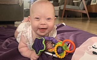 - Jeg mistet helt fotfestet da jeg fikk vite at min baby hadde Downs