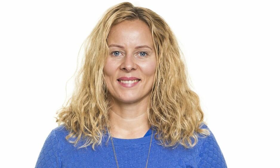 BLI NY: Slik så Hanne ut før hun ble ny med KK. FOTO: Astrid Waller