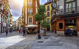 En helg i Madrid