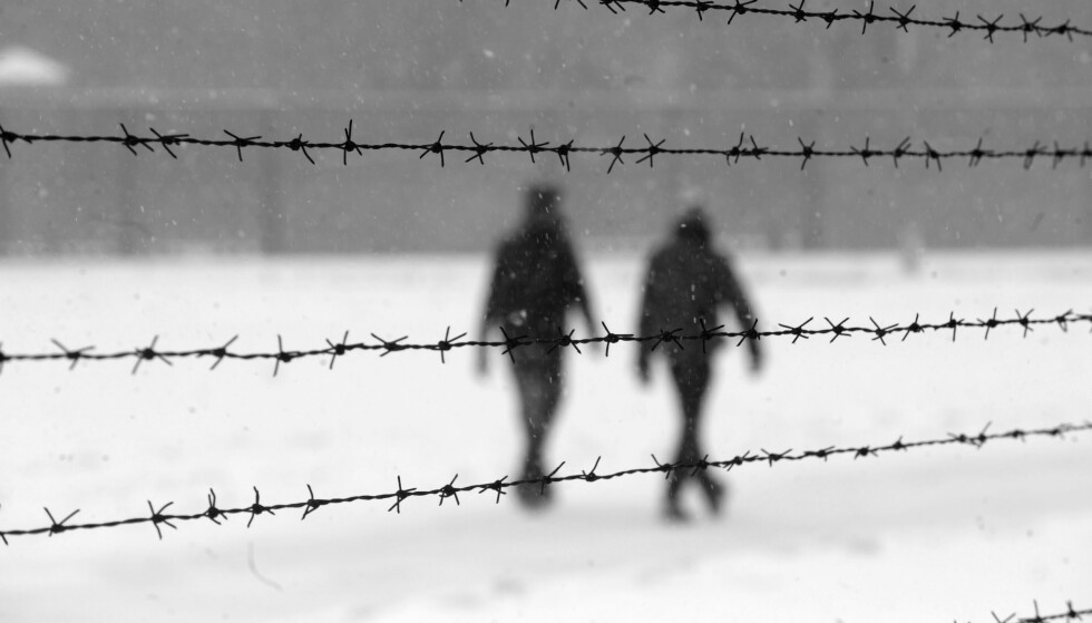 SACHSENHAUSEN: Diktet «Jul i Sachsenhausen» ble en svært viktig del av den spinkle julefeiringen til de norske fangene som satt i fangeleiren i Tyskland under krigen. FOTO: Privat