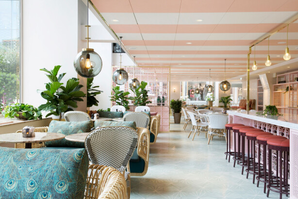 Gretas på Haymarket Hotel. Foto: Scandic Hotel Haymarket