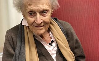 Ragnhild (92): - Man kan ikke unngå å se seg selv i speilet og tenke: «herregud, over 90 år og så lever man fremdeles»!