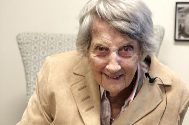BODIL (91): Fullfør det du har startet på, er Bodils aller beste livsråd. Og husk å ta deg en hvil da! FOTO: Malini Gaare Bjørnstad