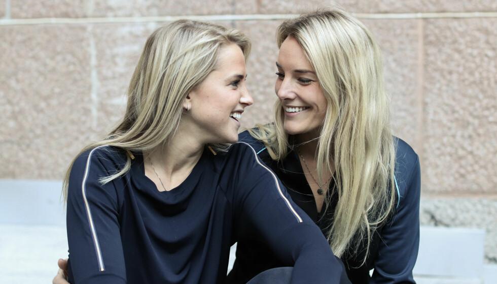 FORELSKET: Gjennom hele høsten har kjæresteparet Tonje Frøystad Garvik (29) og Lene Sleperud (29) vært å se som deltakere på TV 2-programmet «Farmen». FOTO: Ida Bergersen