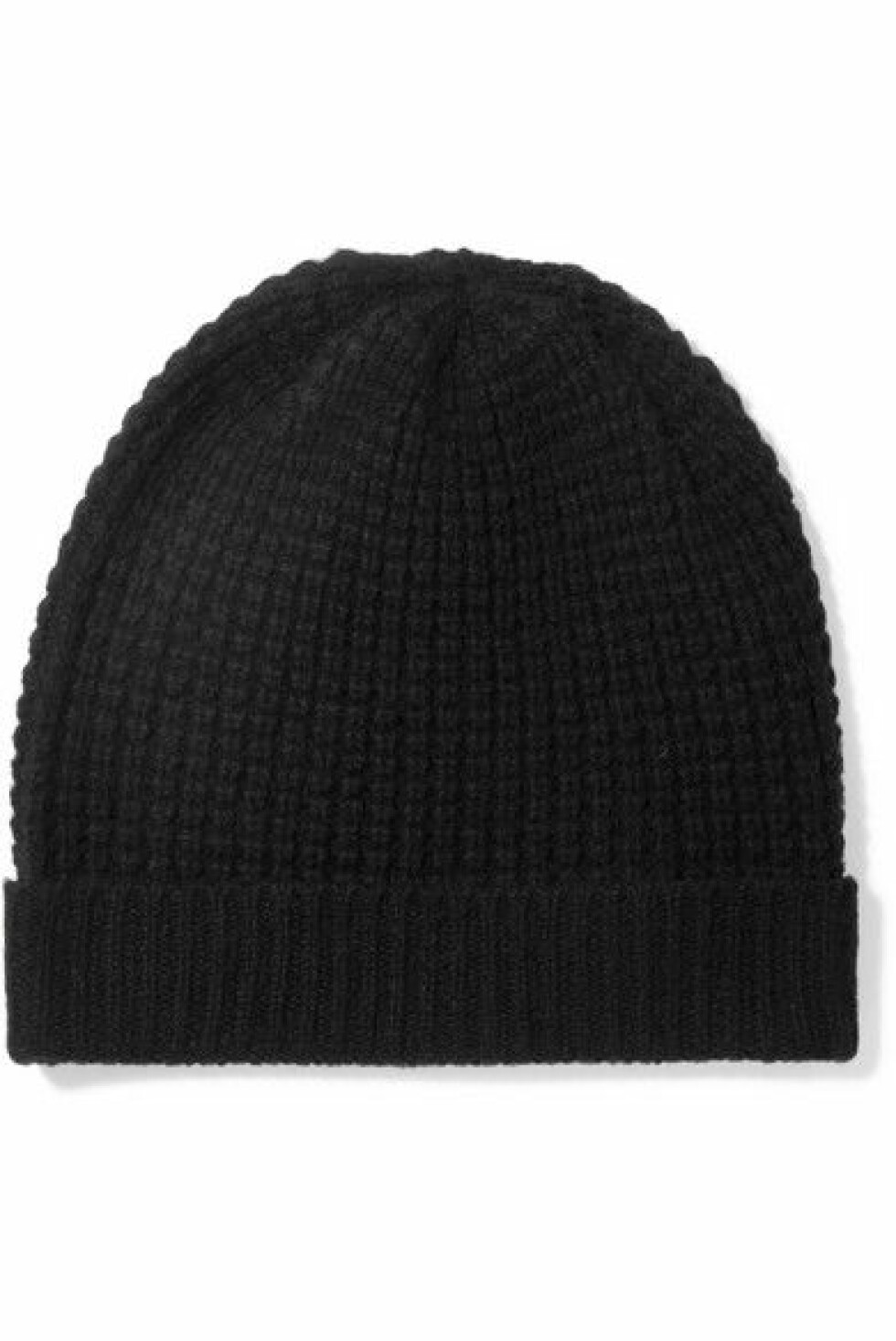 Kasjmirlue fra Madeleine Thompson  1444,-  https://www.net-a-porter.com/no/en/product/885588/madeleine_thompson/holby-waffle-knit-cashmere-beanie