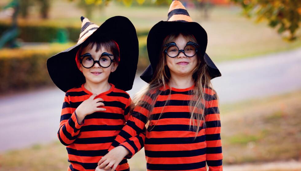 BILLIG HALLOWEEN: Halloween-feiringen kan gjøres billigere enn du tror. Her er det bare å bruke kreativiteten og sette av litt ekstra tid. FOTO: NTB Scanpix