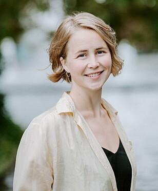 BRA TILTAK: Anja Bakken Riise i Framtiden i våre hender, synes det er veldig positivt at det har blitt mer fokus på å få ned klesforbruket. FOTO: Renate Madsen