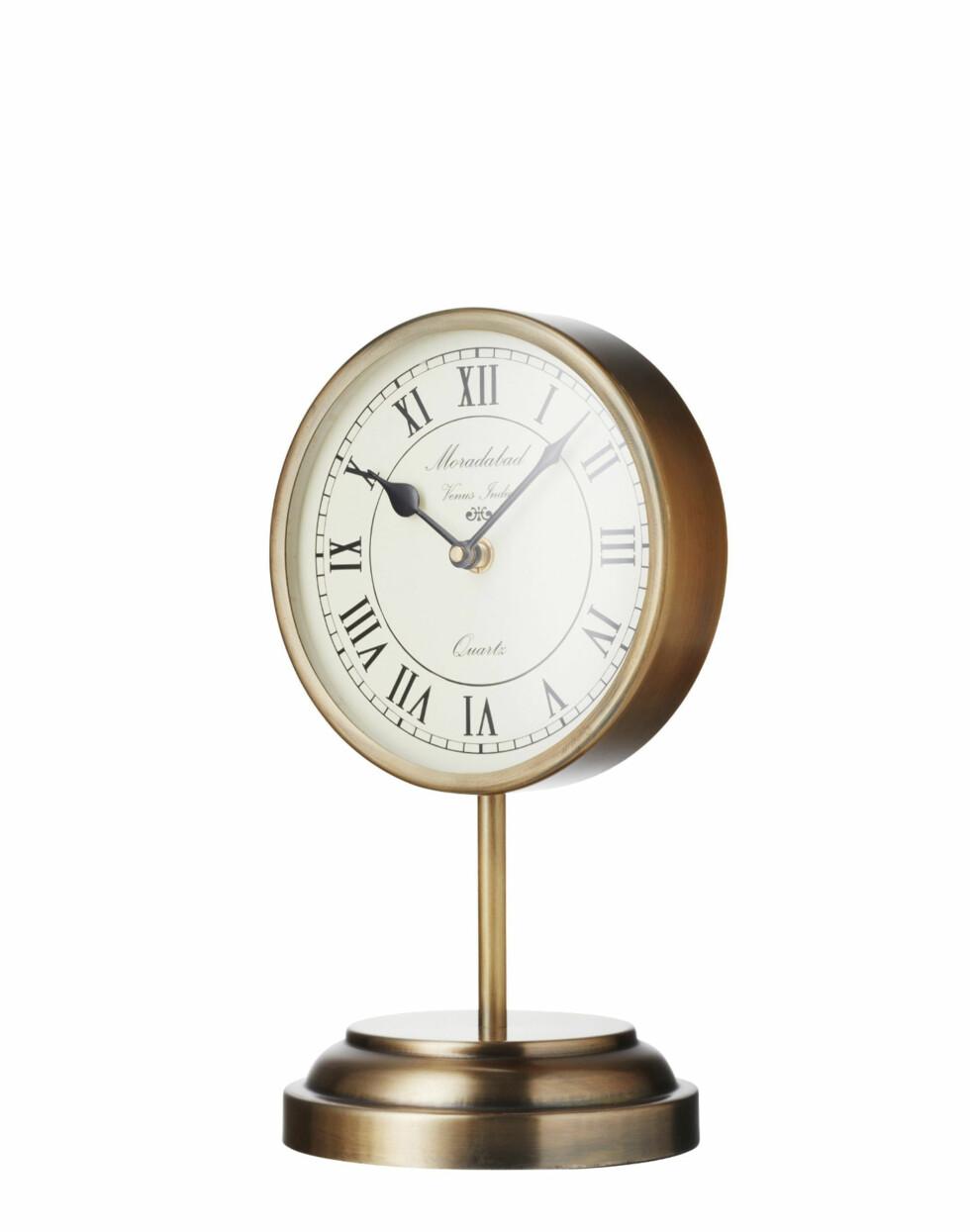 Stående klokke (kr 299, Indiska).