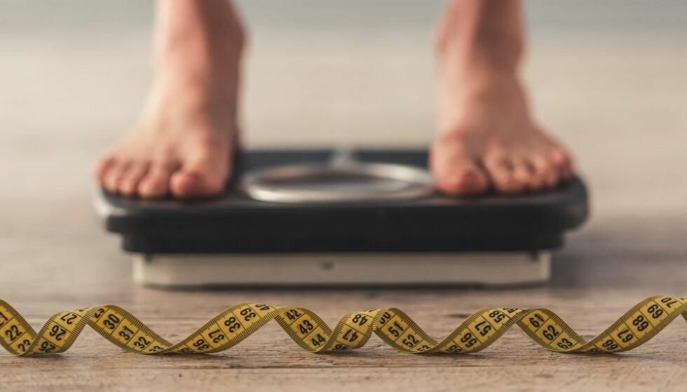 FETTMASSE: - BMI forteller noe om forholdet mellom vekten og høyden din. FOTO: Shutterstock
