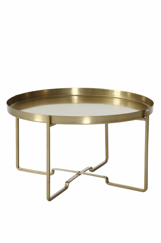 «Georg» er et sofabord med et moderne og elegant preg. Fint også sammen med andre bord (kr 849, Ellos Home).