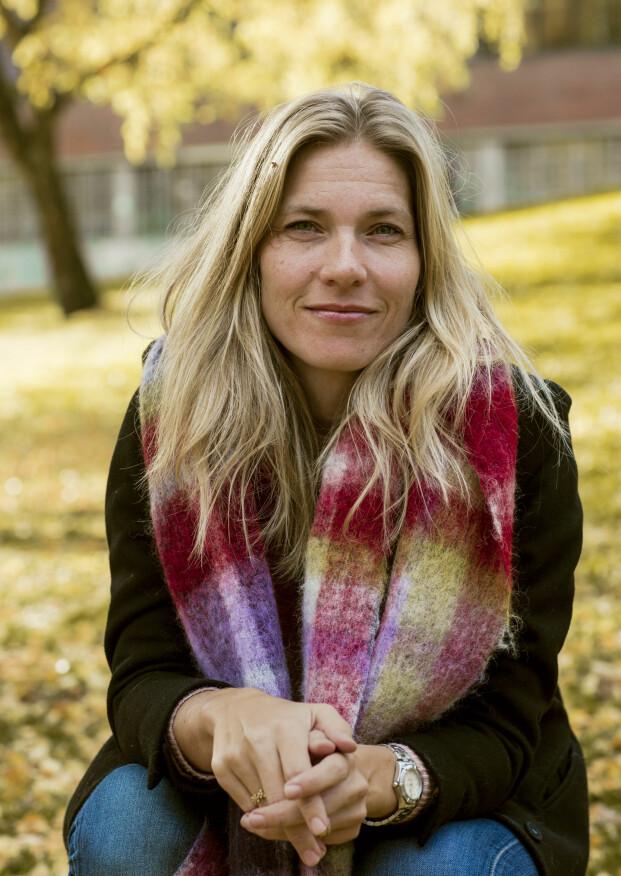 ETTER HANS KRISTIAN: Det har bare gått noen måneder siden Hans Kristian døde og Karen Marie Berg er så glad hun turte å stase på kjærligheten: - Livet er for kort til å nøle. FOTO: Astrid Waller