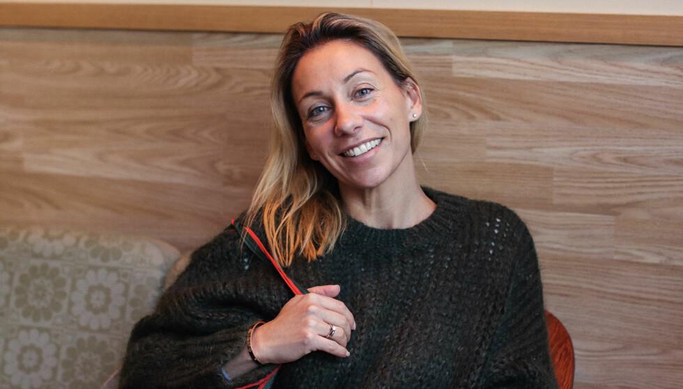 SAGT OPP JOBBEN: Gina har nylig sagt opp jobben sin som forretningsutvikler for å satse fullt på Bærepose. Hun har også hatt en del egne agenturer tidligere, og mener hun alltid har hatt en gründer i magen. FOTO: Ida Bergersen