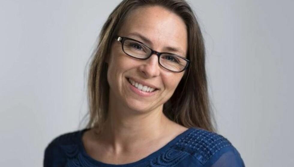 KRITISK TIL SØVNRÅD: Søvnterapeut Caroline Lorentzen reagerer på søvnrådene i den nye utgaven av «Håndbok for helsestasjoner 0-5 år». FOTO: Privat