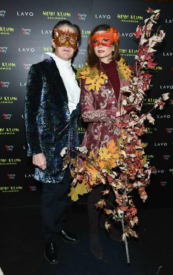 Skuespiller Kyle MacLachlan og Desiree Gruber. Foto: Scanpix