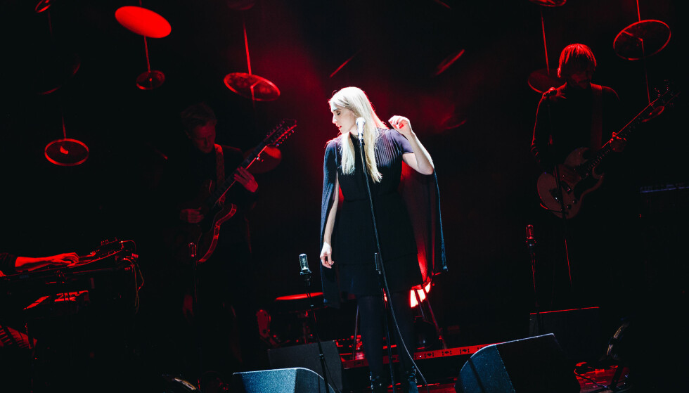 VAKRE TONER: Christel Alsos under en konsert på Oslo Konserthus i 2017. FOTO: Mads Suhr Pettersen