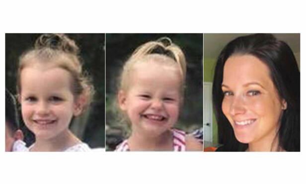 DREPT AV FAR: 34 år gamle Shan'ann Watts og døtrene Belle og Celeste forsvant fra familiens hjem i Colorado i august. Noen dager senere ble de funnet drept. Nå erkjenner far og ektemann Chris Watts at han har tatt familien av dage. FOTO: NTB Scanpix