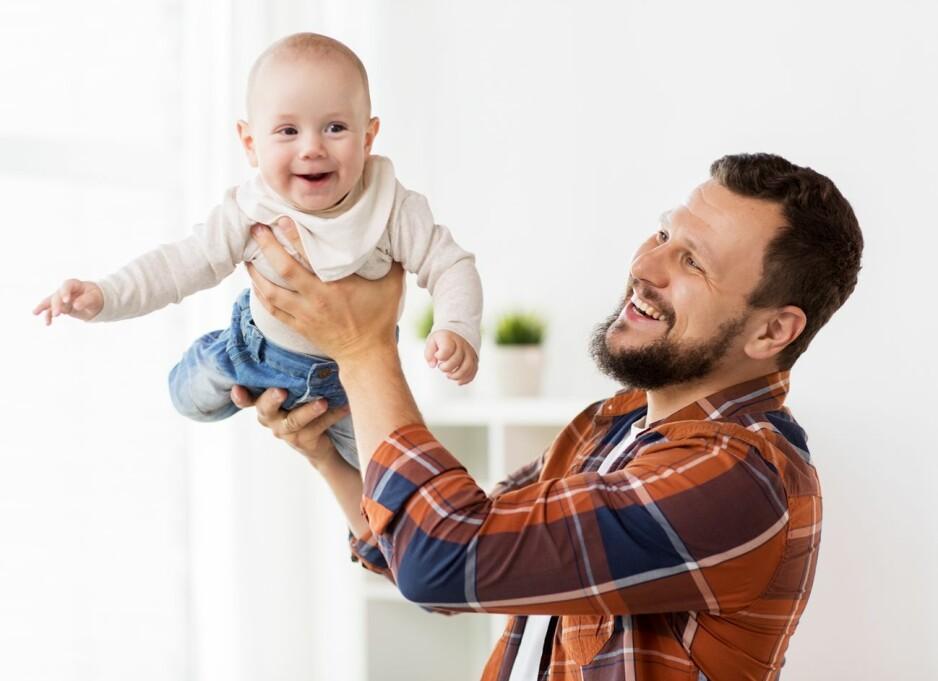 <strong>FARS ALDER HAR BETYDNING:</strong> Menn kan bli fedre så godt som hele livet, men ny forskning tyder på at det kan medføre helseproblemer både for barnet og for den gravide kvinnen. FOTO: NTB Scanpix