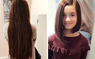 Muazzam (13) sparte i tre år for å donere bort håret sitt