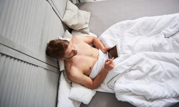 AVHENIGIG: Å ha en pornoavhengig kjæreste vil helt klart påvirke forholdet. FOTO: NTB Scanpix