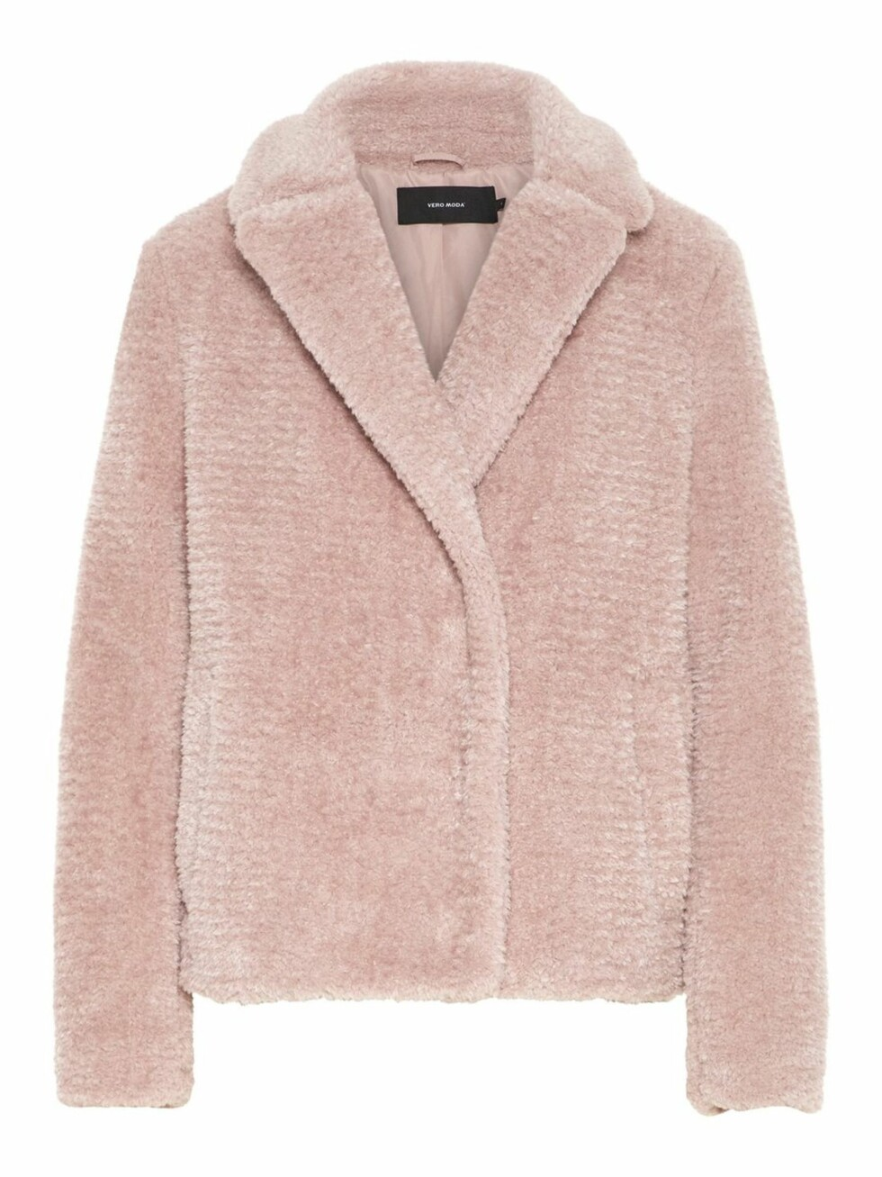 Fuskepels fra Vero Moda |700,-| https://www.veromoda.com/no/no/vm/kjoep-etter-kategori/jakker/faux-fur-jakke-10206356.html?cgid=vm-jackets&dwvar_colorPattern=10206356_MistyRose