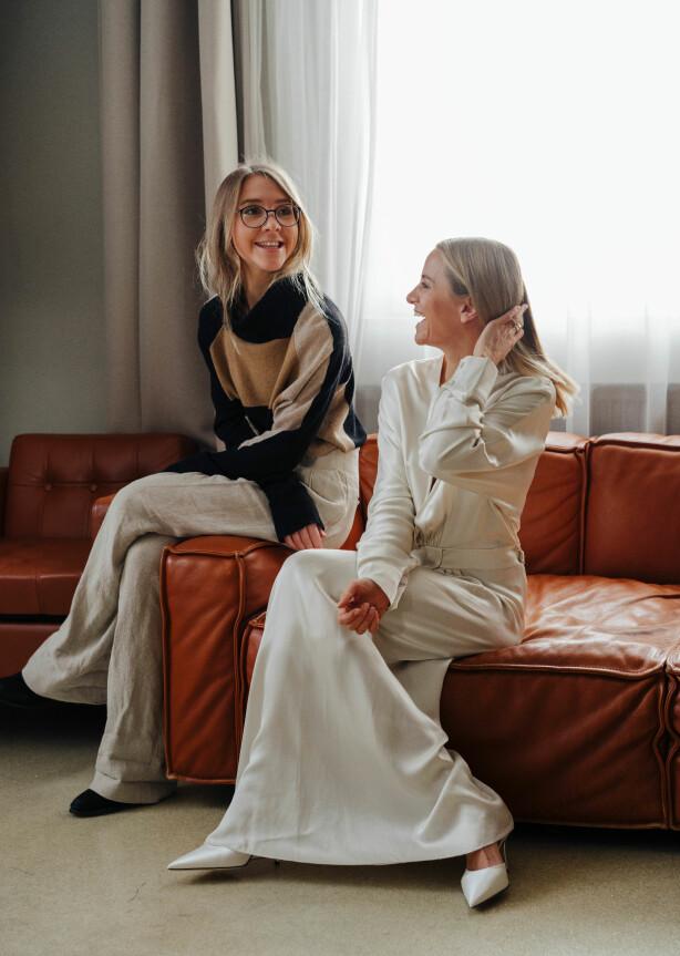 Pia Norskaug og Celine Aagaard. Foto: Håkon Jørgensen