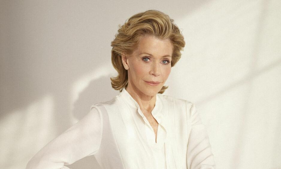 JANE FONDA: - Det er mange kvinner som kommer til en viss alder og så tenker de at; nå stenger jeg butikken der nede, sier Jane Fonda til KK. FOTO: Trunk Archive