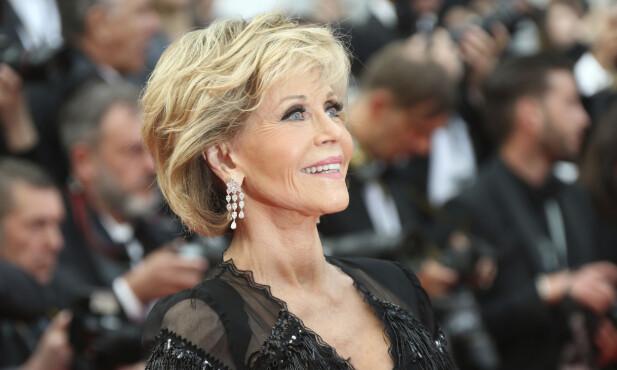 VIKTIG Å TA VARE PÅ KROPPEN SIN: - Å holde seg sunn og sterk er viktig. Det er tøft å ha et robust sexliv hvis man ikke kan snu på hodet eller gå ned på kne, sier Jane Fonda til KK. FOTO: NTB Scanpix