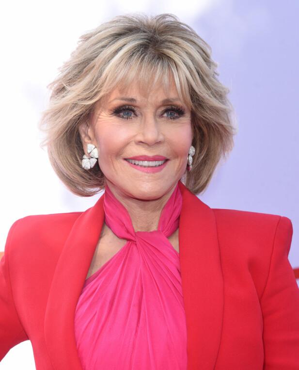 EN VANSKELIG PERIODE: Jane Fonda har gått gjennom vanskelige perioder med både spiseforstyrrelser og dårlig selvbilde. FOTO: NTB Scanpix