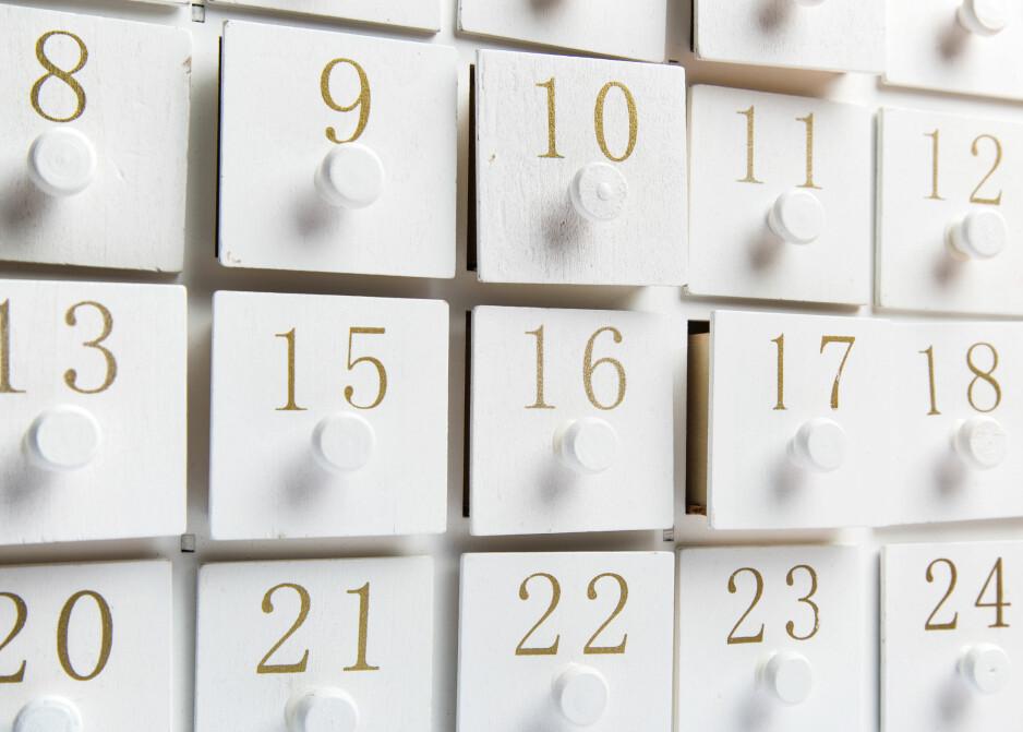 SNART JUL: Vi lader opp til førjulstiden med å velge ut årets adventskalender! FOTO: NTB Scanpix