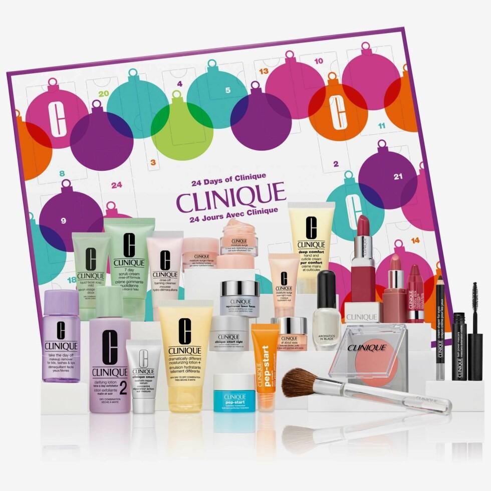 Clinique |695,-| https://www.kicks.no/clinique/julegaver/julegave-til-henne/makeup/clinique-24-days-of-clinique-g-clinique-24-days-of-clinique-giftbox