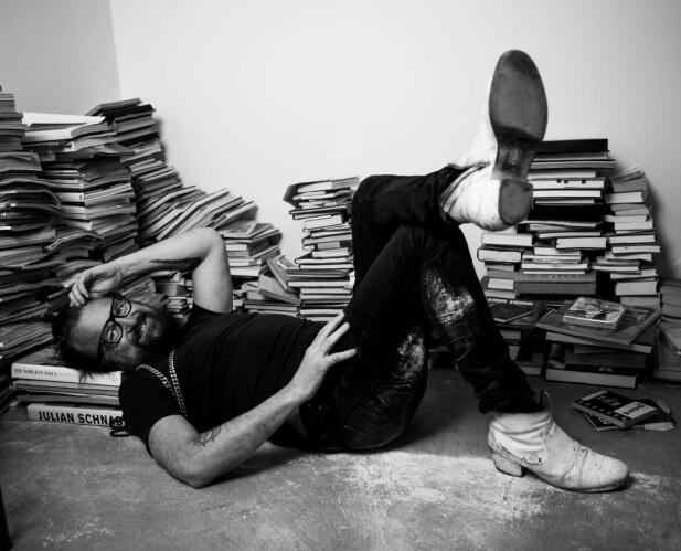 KREATIV: I Johans kreative låve finnes det ingen grenser mellom jobb og fritid. Hodet går nonstop. FOTO: Rickard L. Eriksson