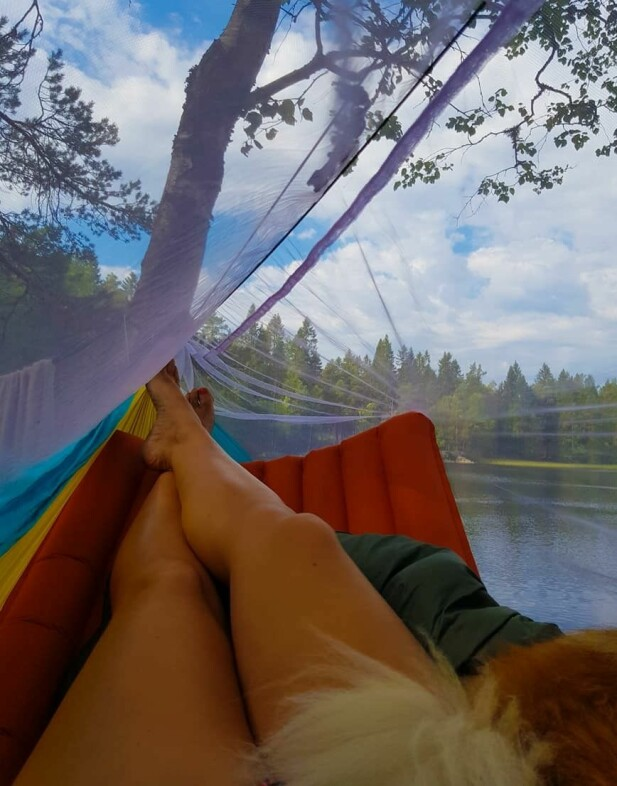 INSPIRERER: På Instagram har Helene inspirert andre med sine avslappede naturbilder. FOTO: Privat