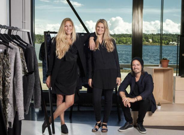 HOLZWEILER: (f.v.) Maria Skappel Holzweiler, Susanne Holzweiler og Andreas Holzweiler. Foto: Ole Martin Halvorsen