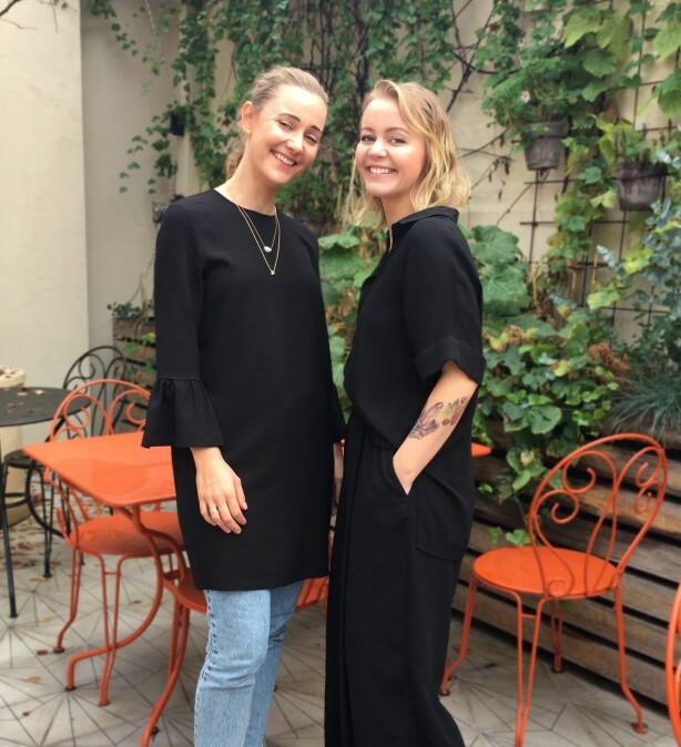 Gunhild og Anne Hasla. Foto: Privat