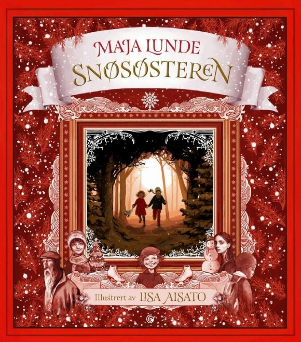 Snøsøsteren, en julefortelling av Maja Lunde  349,-  https://www.ark.no/boker/Maja-Lunde-Snososteren-9788248922056