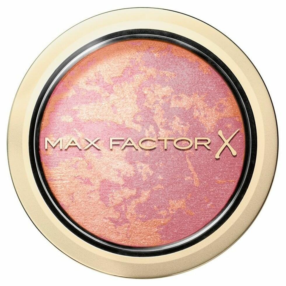 Blush fra | Max Factor | https://www.vita.no/merker/max-factor/hud/max-factor-creme-puff-blush-2?utm_source=kktutorialmonica