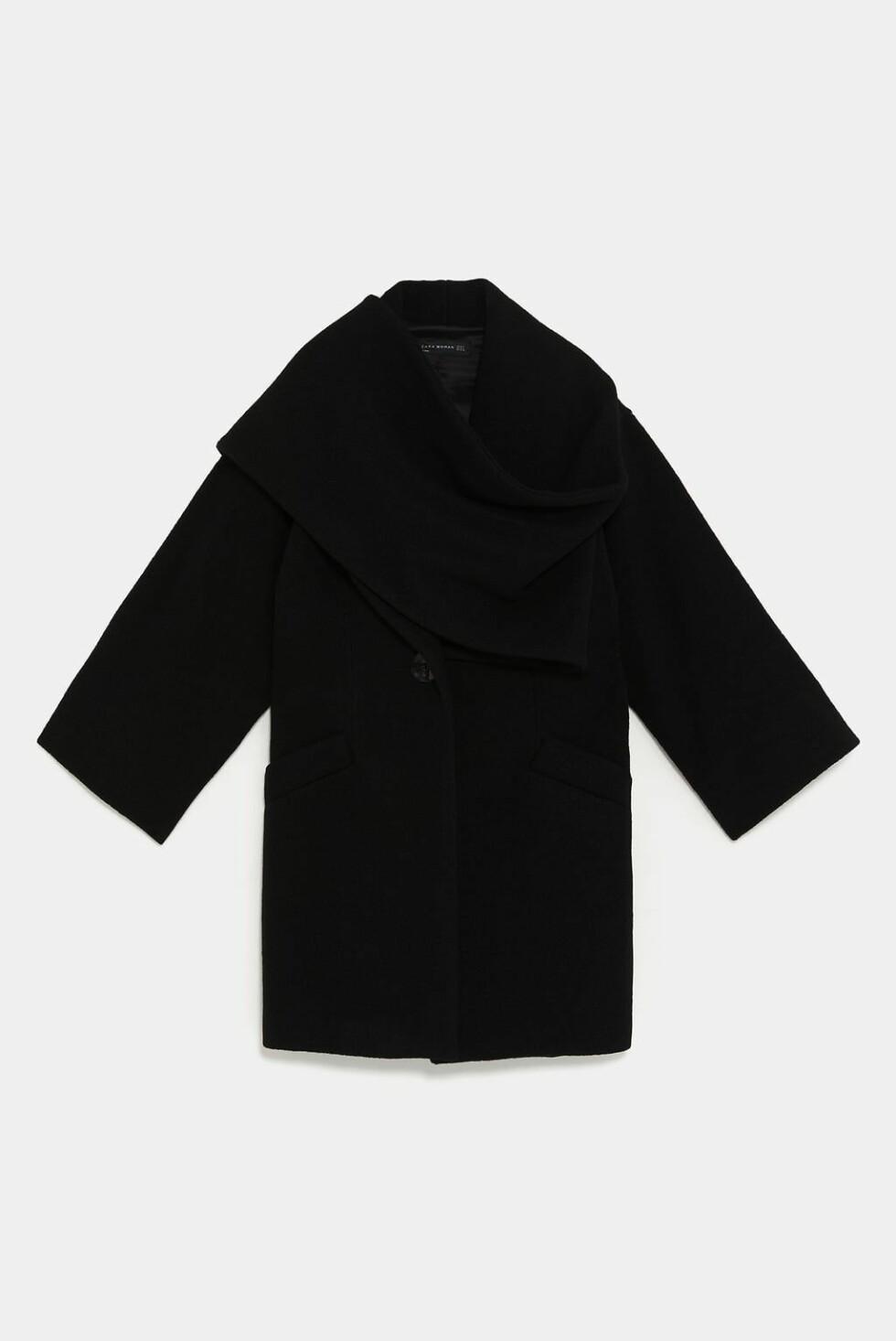 Zara |1695,-| https://www.zara.com/no/no/k%C3%A5pe-med-omslagskrage-p08403939.html?v1=7678042&v2=1074615