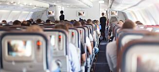 – Hver gang jeg setter meg på et fly er jeg sikker på at jeg kommer til å dø