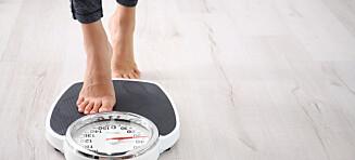 Ikke slank deg som overvektig og frisk