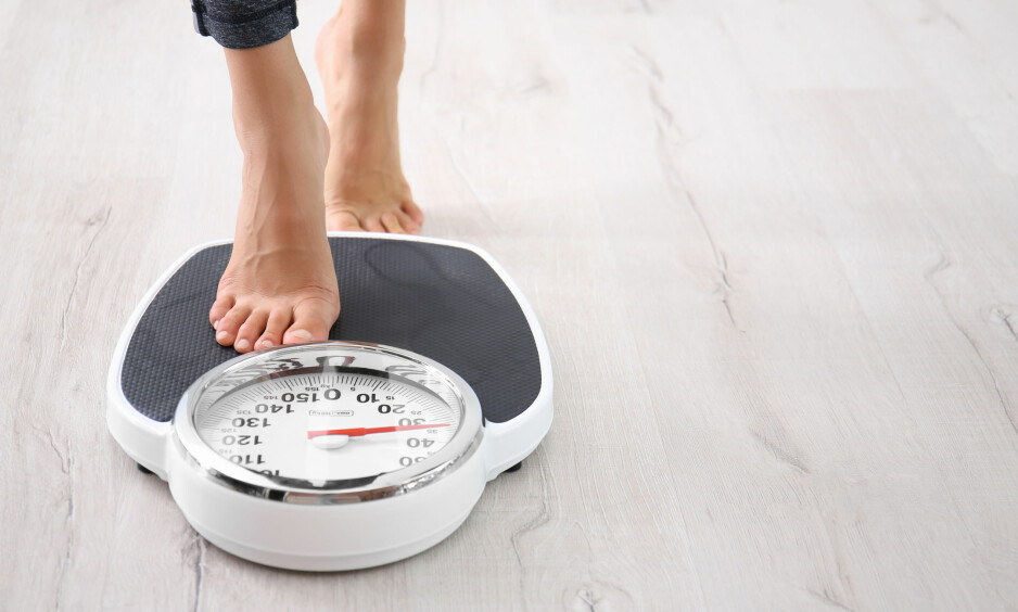 OVERVEKT: Er du overvektig, men helt frisk er det ikke anbefalt å gå ned i vekt. FOTO: NTB Scanpix