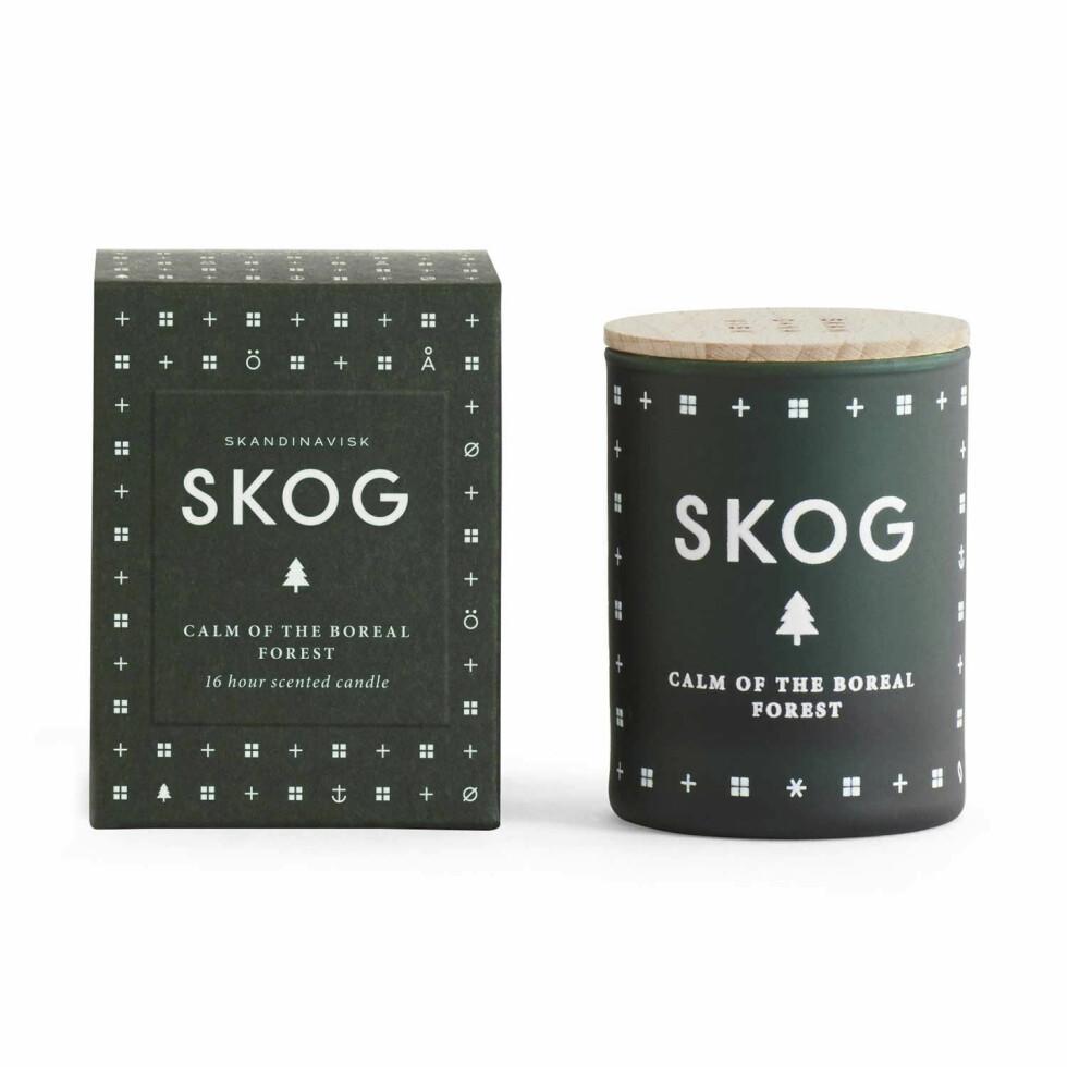 Med denne bevarer du duften av gran lenge etter jul (kr170, Skandinavisk).