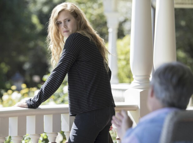 «SHARP OBJECTS»: I serien «Sharp Objects» spiller Amy alkoholiker Camille Preaker. FOTO: NTB Scanpix