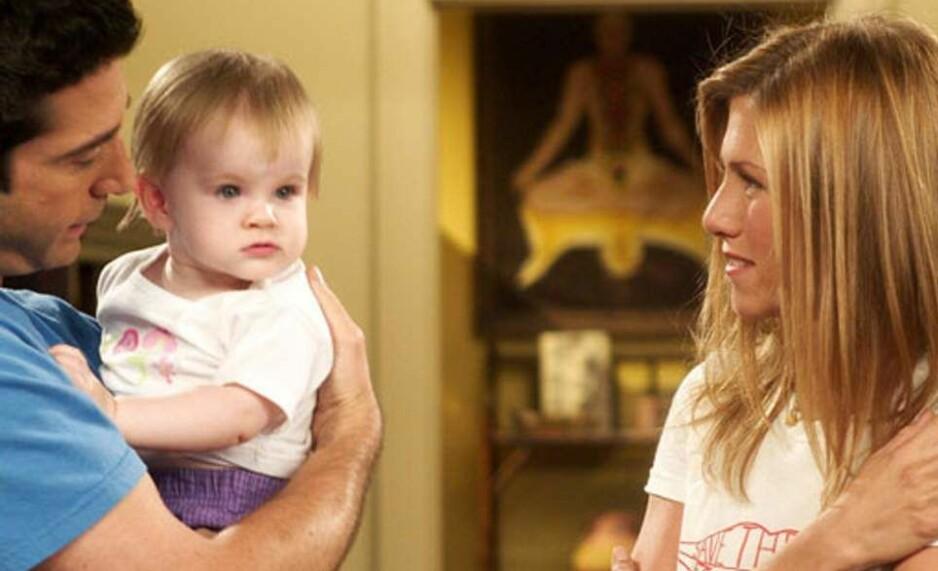 DEN GANG DA: Emma Geller-Green var barnet til av-og-på-paret Ross og Rachel i «Friends». FOTO: NBC