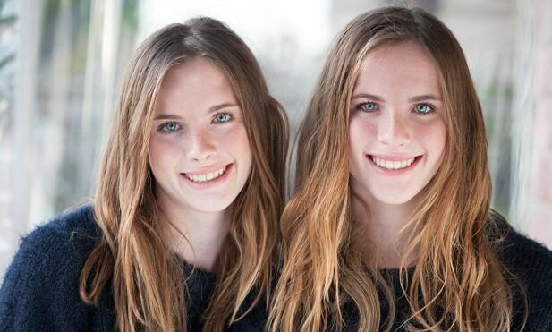 HAR VOKST OPP: Noelle Sheldon (t. v.) og Cali Sheldon (t. h.) byttet på å spille rollen som Emma i «Friends» som barn. I dag er de tenåringer. FOTO: IMDb