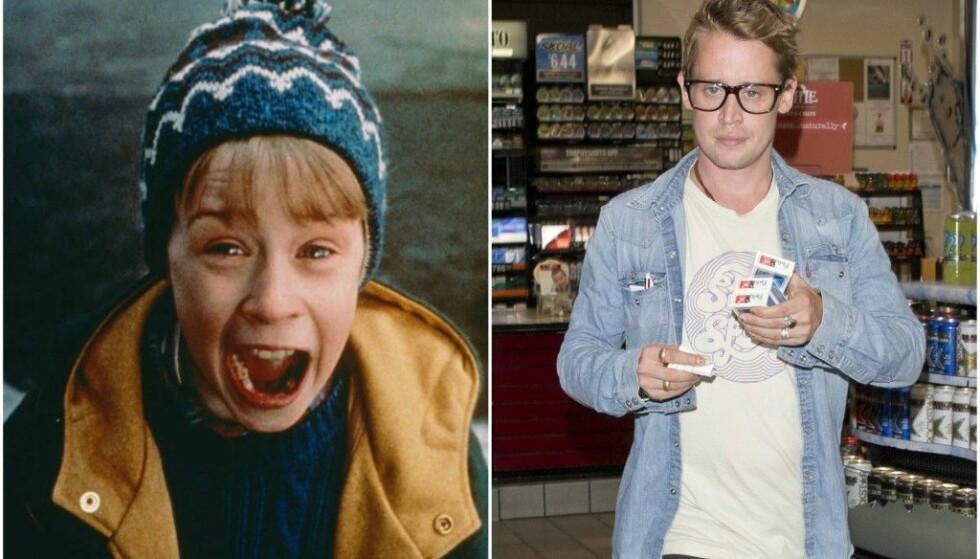 STILLE: Det har vært stille fra Macaulay Culkin, men nå får vi snart se ham i en ny film. Foto: Home Alone / NTB Scanpix
